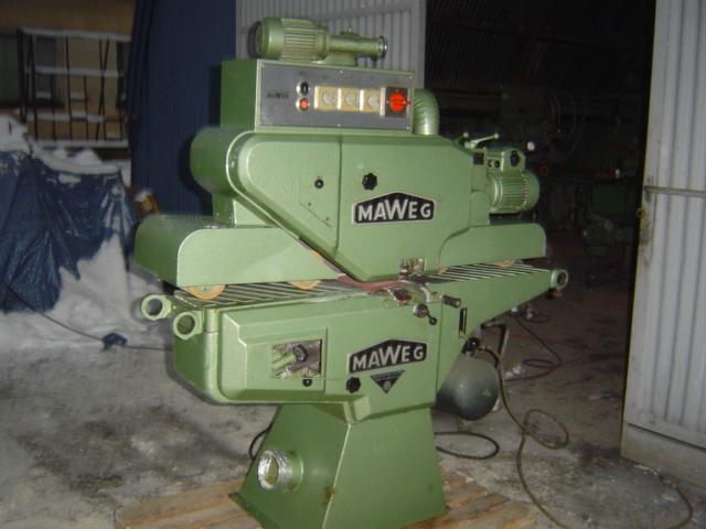 Szliferka przelotowa MAWEG 200 2 agregaty !!!