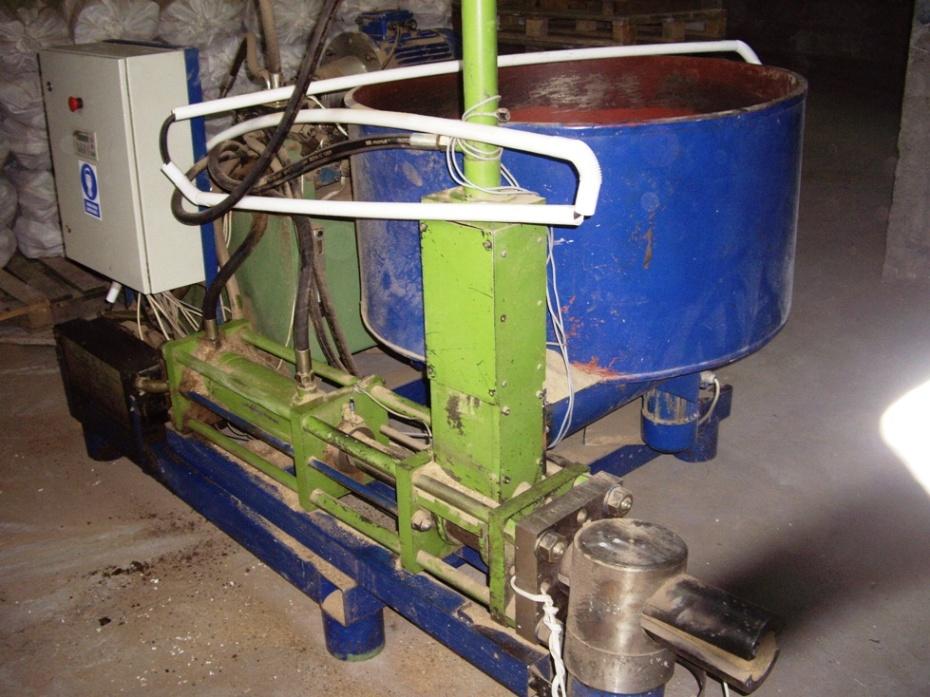 linia do producji brykietów z trocin i słomy