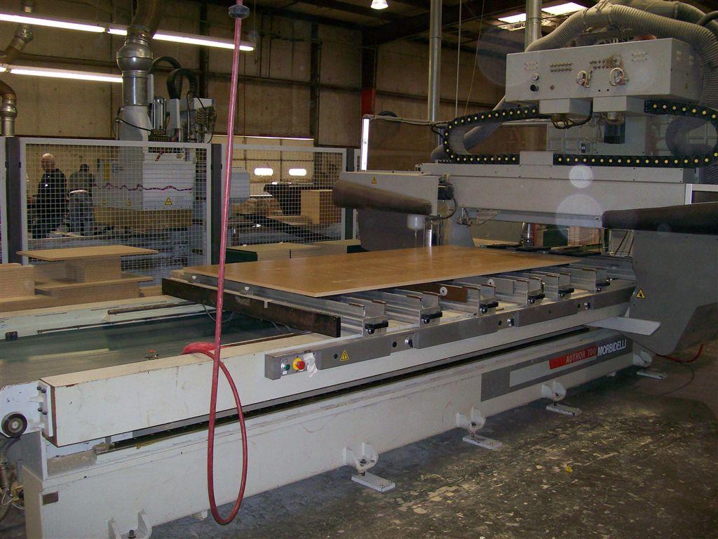 Używane maszyny CNC - Morbidelli Author 700