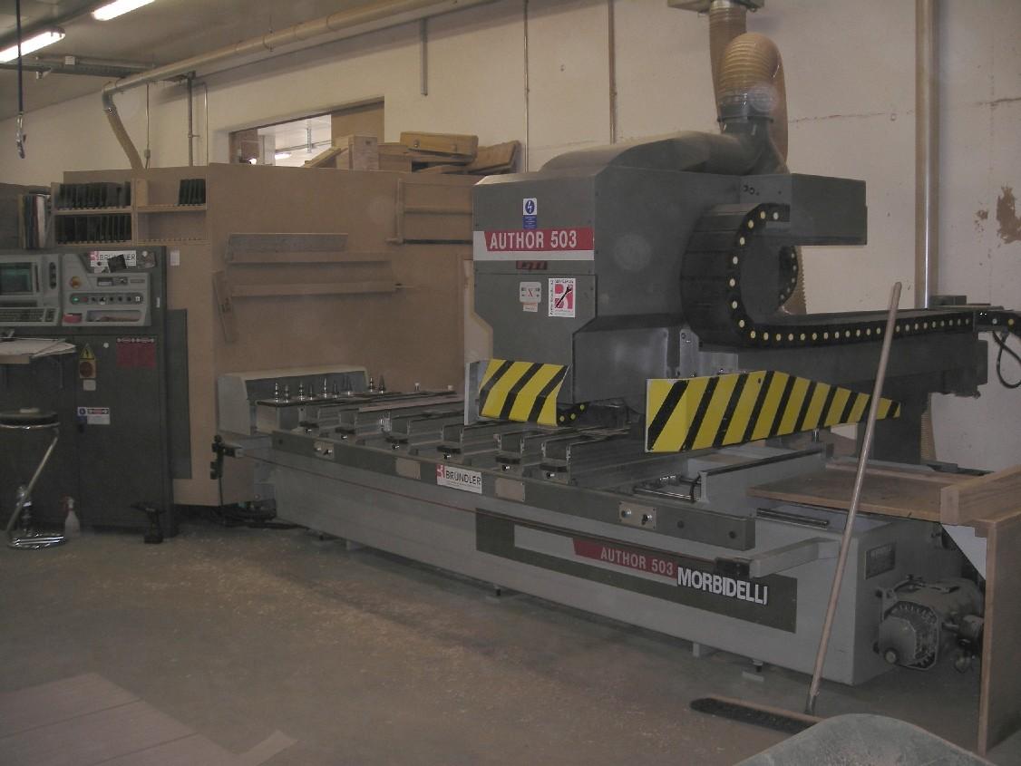 Używane maszyny CNC - Morbidelli Author 503