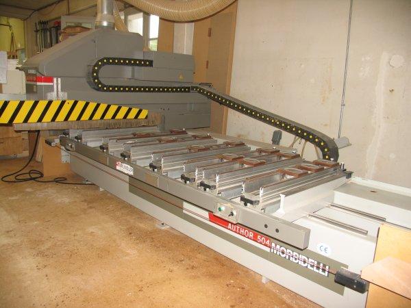 Używane maszyny CNC - Morbidelli Author 504