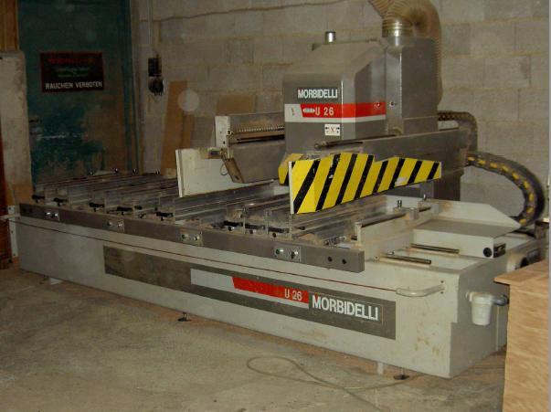 Używane maszyny CNC - Morbidelli U26