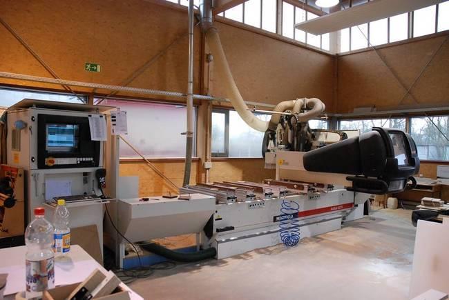 Maszyny CNC do mebli, stelaży,schodów.. AUTOR 427