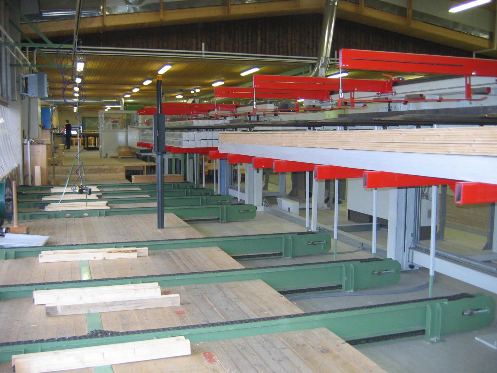 Drewno profilowane z fabryki