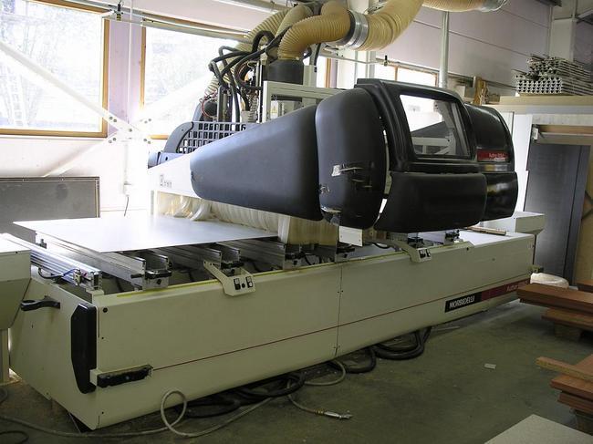 Maszyny CNC do mebli, stelaży - Morbidelli 10