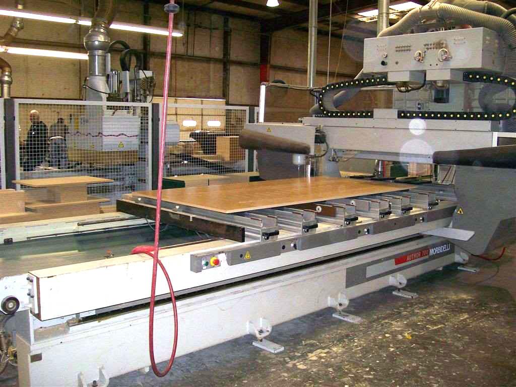 Maszyny CNC do mebli, stelaży - Morbidelli 13