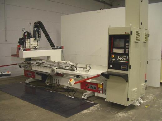 Maszyny CNC do mebli, stelaży - IMA 2