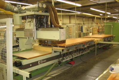 CNC Centrum obróbcze Weeke BP165 96r stan bdb