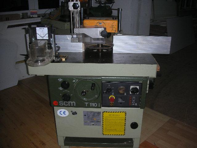 Frezarka dolnowrzecionowa SCM T110 I