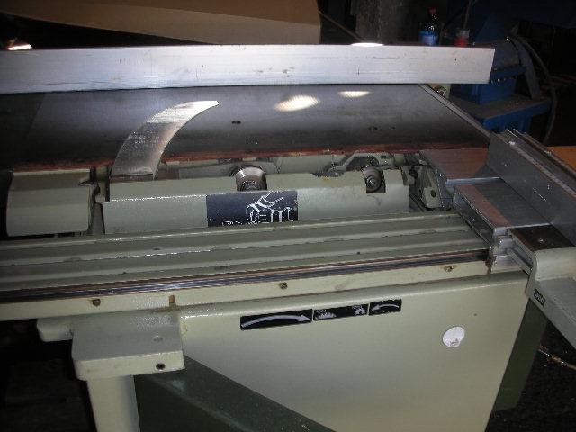 Pila formatowa SCM SI 150 z podcinakiem