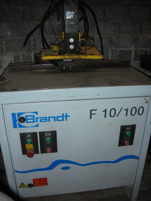 Frezarka obrzezy BRANDT F10/100