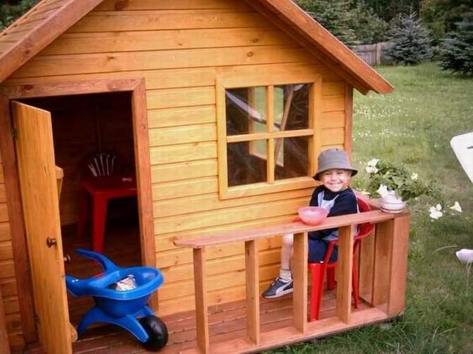 Produkcja domków dla dzieci, galanterii ogrodowii