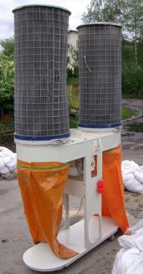 Odciąg 2-workowy OW-2 nabojowy 3300m3/h!!