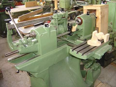 Tokarko-kopiarka HEMPEL CL 400 z kopiałem