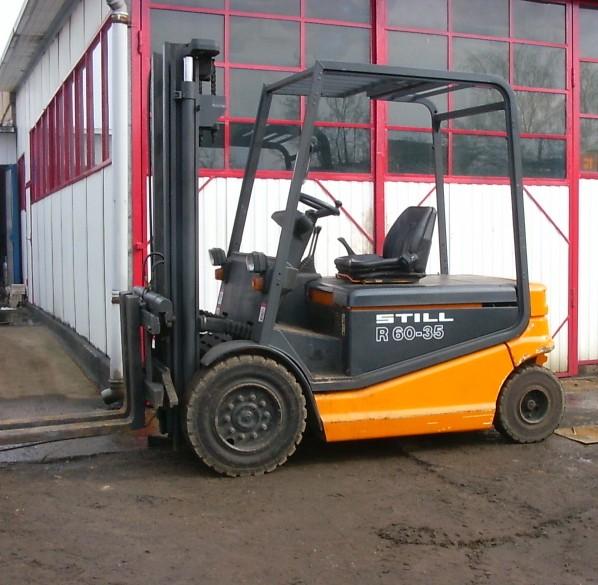 Wózek widłowy STILL R60-35