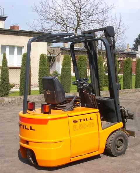 Wózek widłowy STILL R50-16