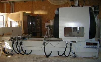 Frezerka sterowana num.- centra obróbcze, CNC