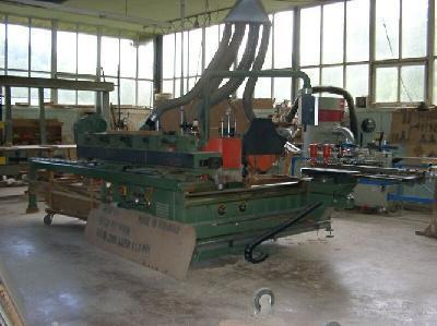 Linia do produkcji okien drewnianych