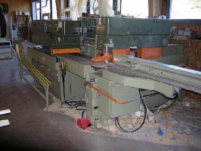 Linia do produkcji okien drewnianych SCM