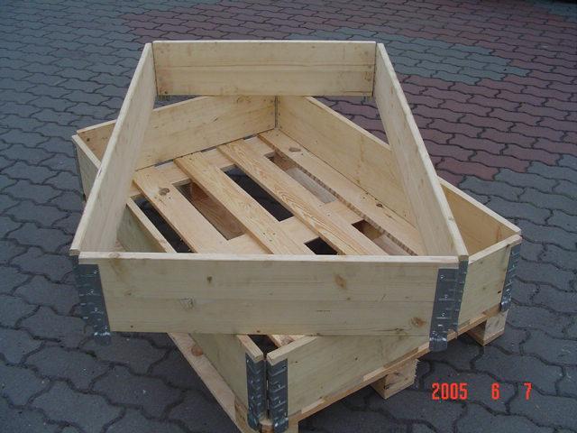 Nadstawki paletowe drewniane