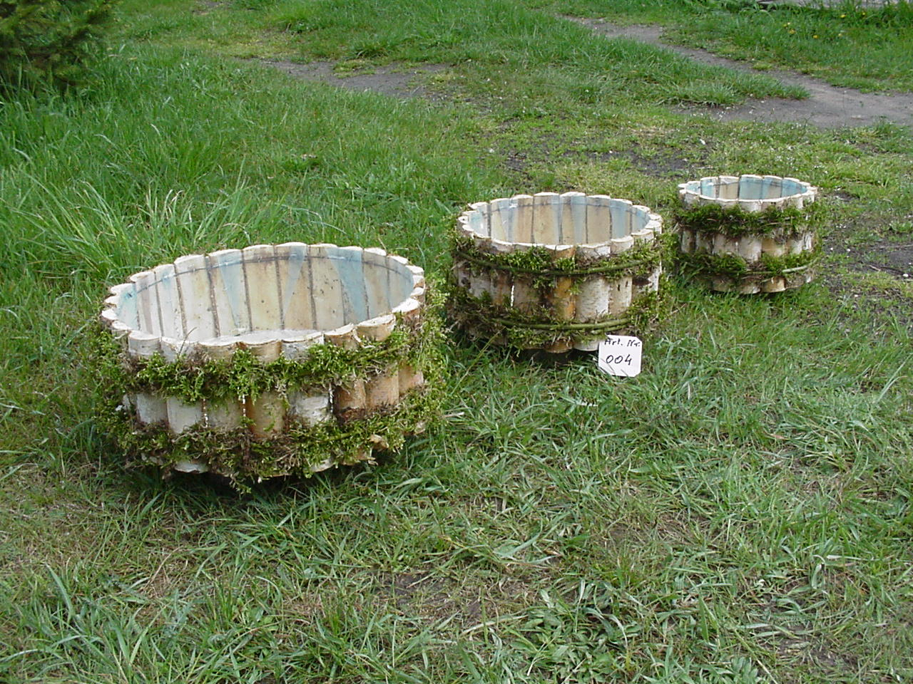donice drewniane ogrodowe