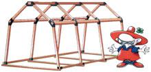 Łaczniki EasyUp-kantówka 50x50.tunele.zadaszenia,