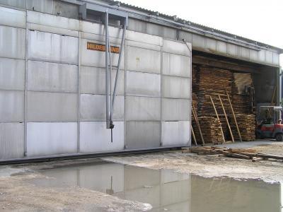 Budowa suszarni do drewna