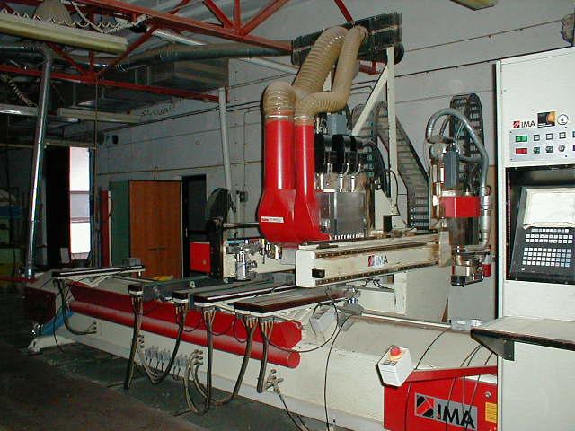 IMA Quadrofleks CNC-centrum obróbcze