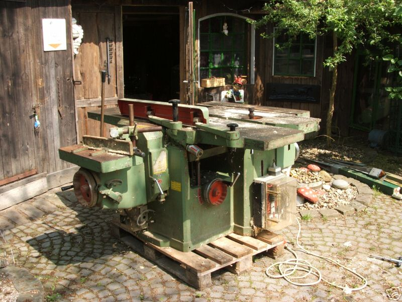 Maszyna STOLARSKA 5 w jednym SCM