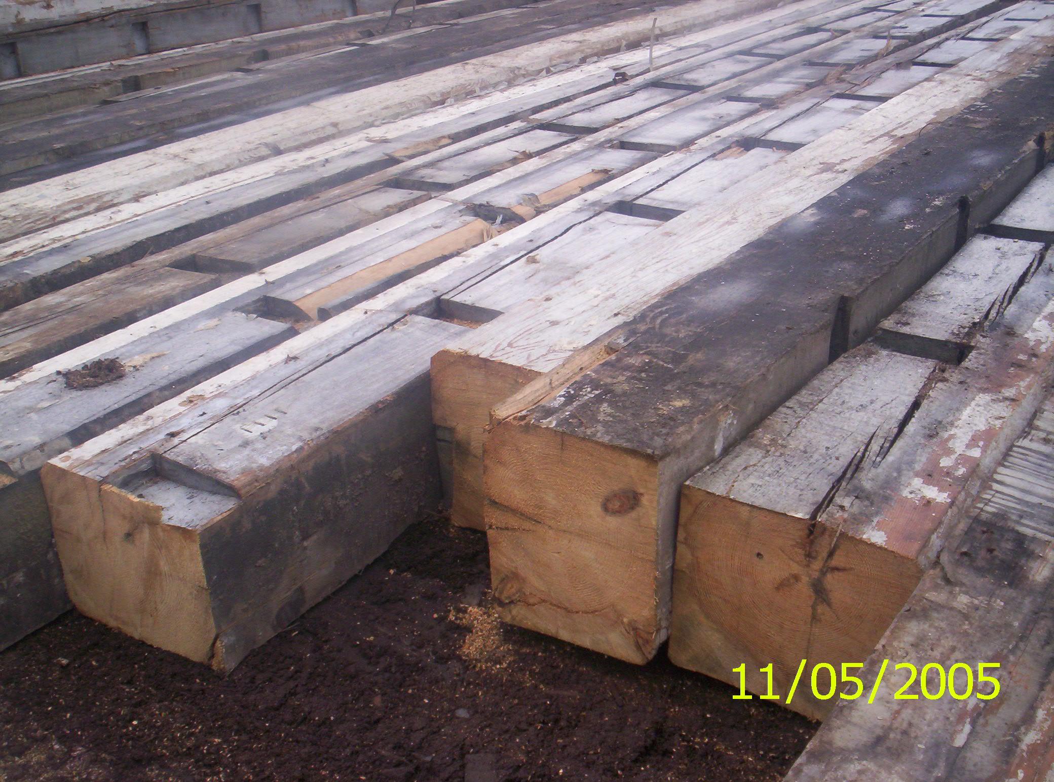 drewno rozbiórkowe