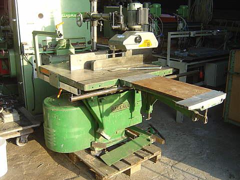 A01 Frezarko-pilarka stołowa Bauerle