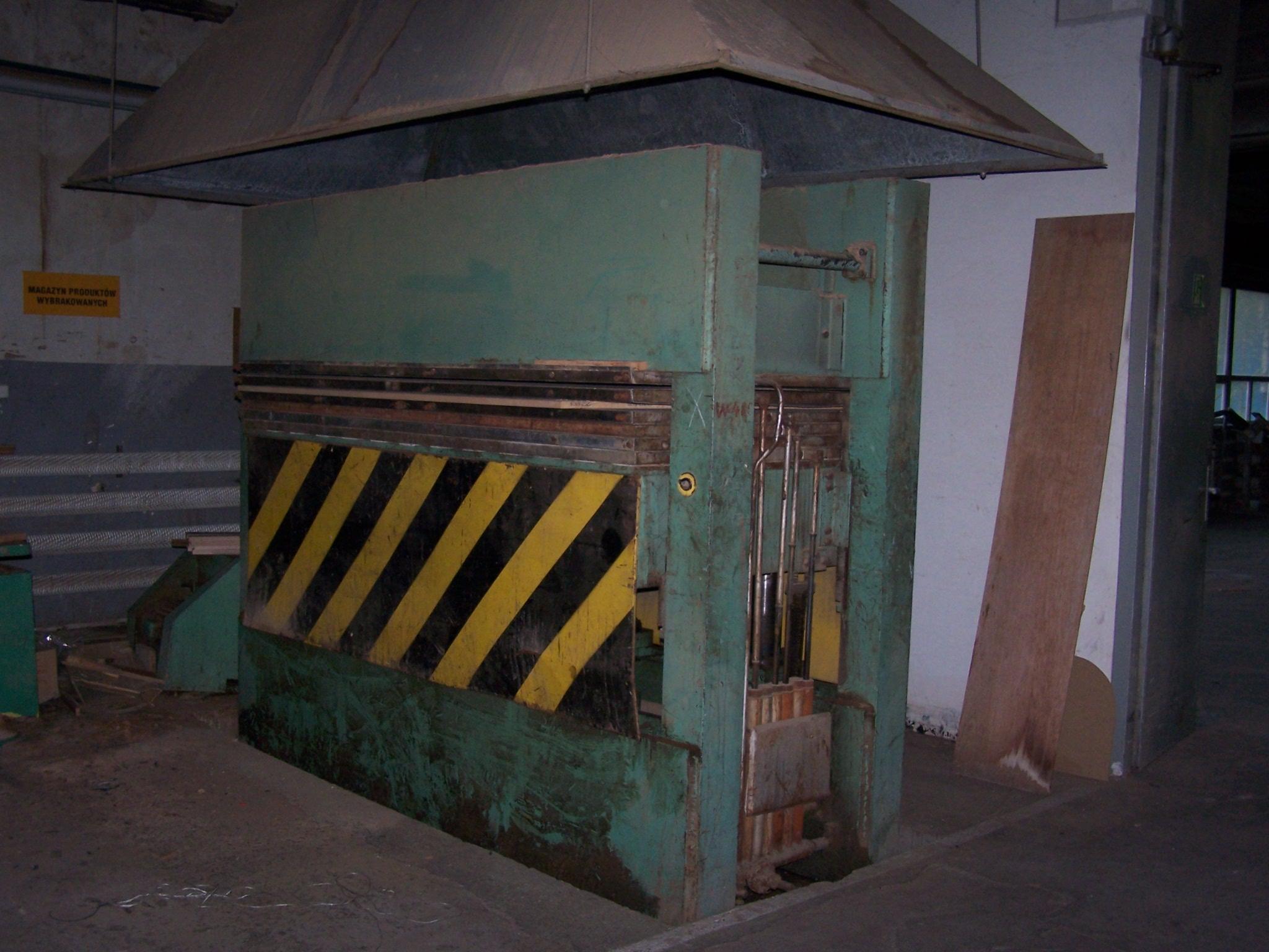 PRASA hydrauliczna 6-półkowa SPOMASZ