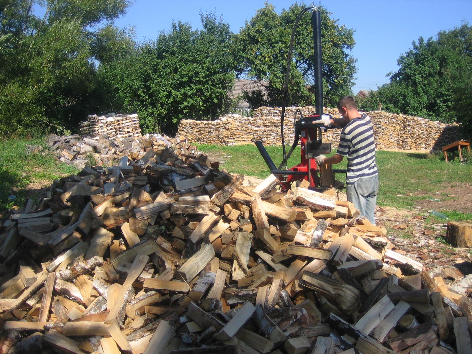 Drewno kominkowe workowane