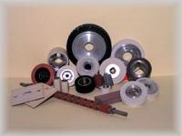 Rolki gumowane i metalowe