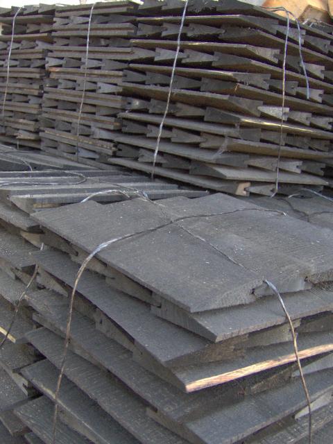 Producent gontów drewnianych