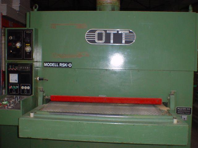 Szlifierka szerokotaśmowa firmy OTT
