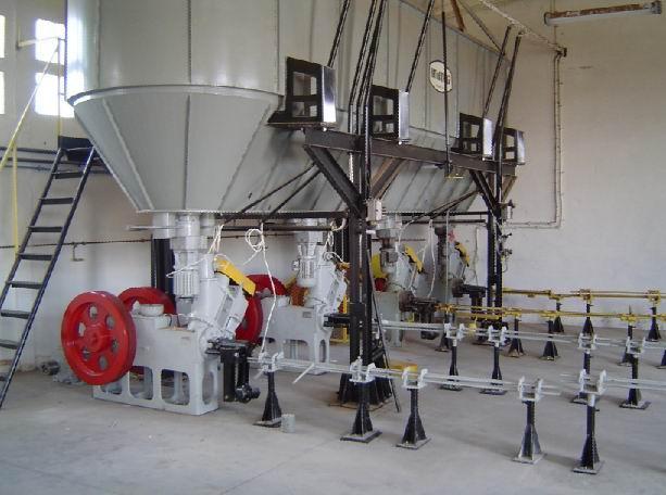 Zakład do produkcji brukietów z trocin