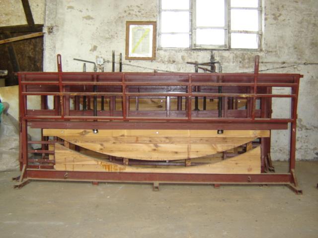 WIERTARKA sześcio- suportowa KRAWĘDZIOWA dł 220 cm