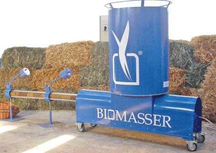 BIOMASSER® -brykieciarka dla rolnika