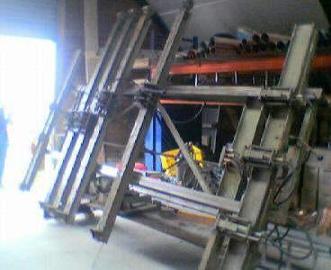 257, #294 Hydrauliczna prasa ramowa MAWEG