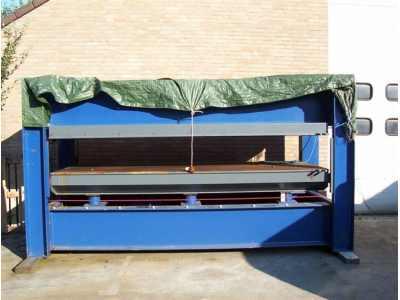 PRASA HYDRAULICZNA TIGER 330 x130cm podgrze.woda