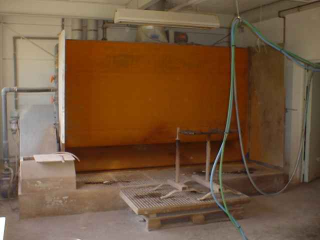 Ściana wodna do lakierni