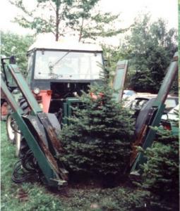 Przesadzarka drzew PD 120