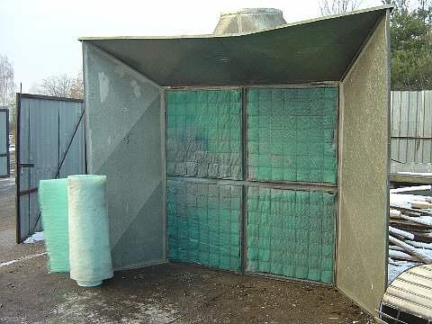 328 Ściana lakiernicza (sucha)