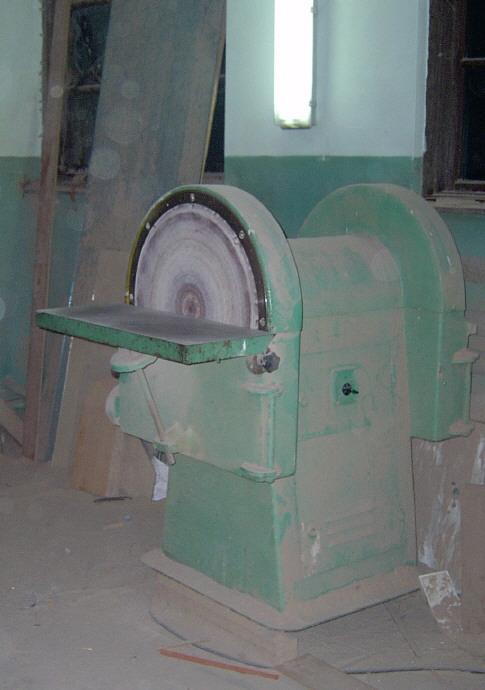 Szlifierka dwutarczowa stolarska