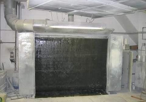 318 Ściana lakiernicza SCHUKO