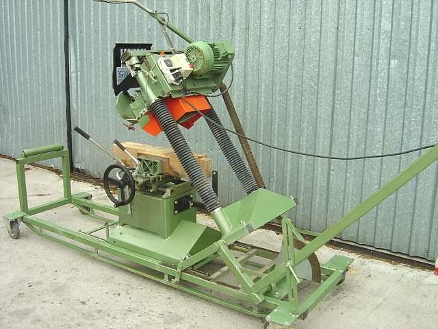 209 Schneider czopiarko-frezarka do budowy domów z