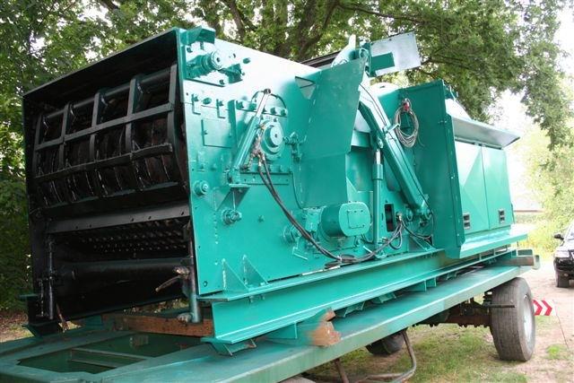 Rębak stacjonarny Jenz - wydajność 45 ton/h