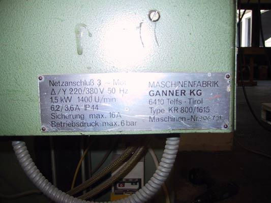 GANNER Wiertarka wielowrzecionowa KR800
