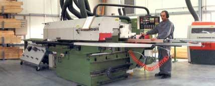 Linia Produkcyjna do produkcji okien z drewna